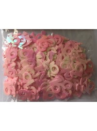 16 Confetti - Pink - Medium