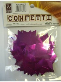 Star Confetti - Pink - Large