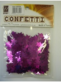 Star Confetti - Pink - Small