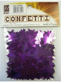 Star Confetti - Purple - Medium