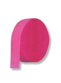 Cerise Pink Crepe Streamers (10)