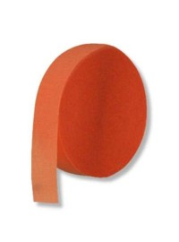 Orange Crepe Streamers (10)