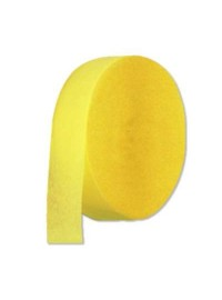 Yellow Crepe Streamers (10)