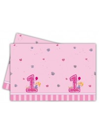 Girl's First Birthday Tablecover