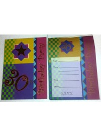 30th Invitation Pad (20 Pages)