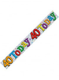 40 Today Banner