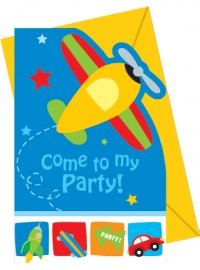 Airplane Invitations (6)