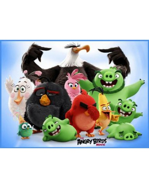 Angry Birds Meal box / Bucket Sticker