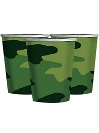 Camouflage Cups (8)