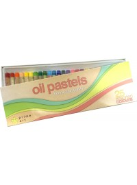 Prime Art Oil Pastels - 25pc