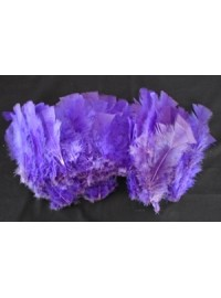 Feathers 10cm - Purple (20)