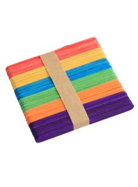 Ice Cream Sticks - Std Coloured (50)