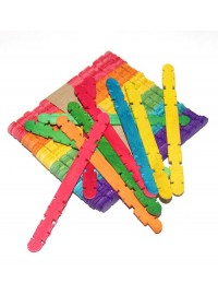 Ice Cream Sticks - Grooved (48)