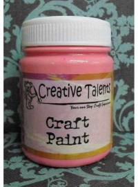 Craft Paint - No.17 Candy Pink 100ml