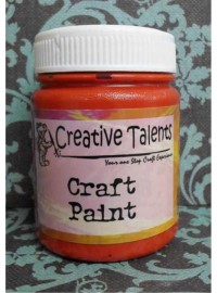 Craft Paint - No.24 Red 50ml
