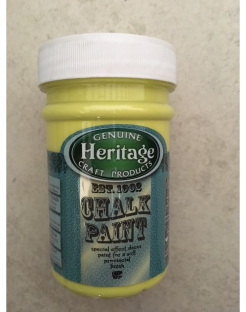 07 Glowing Lemon Chalk Paint - 250ml