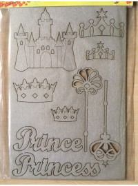 Chipboard Princess Set