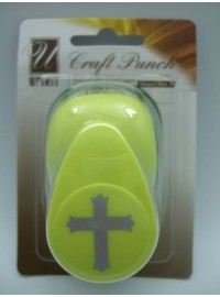 "Craft Punch 1"" - Cross"