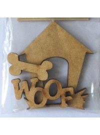 Dog House Set - Wood