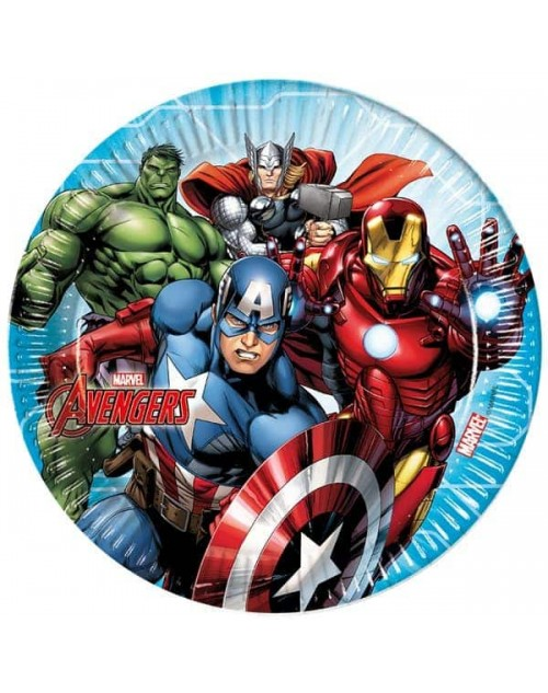 Mighty Avengers Plates (8)