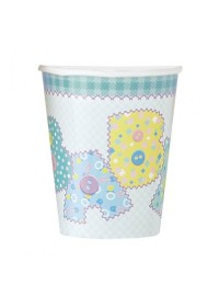 Baby Pastel Stitching Cups (8)