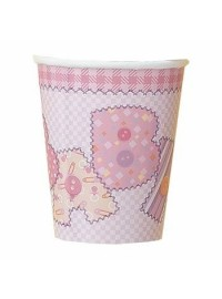 Baby Pink Stitching Cups (8)