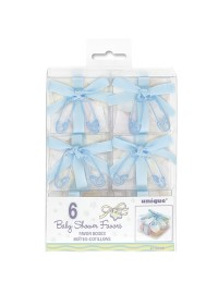 Favor Boxes - Blue (6)