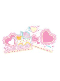 Baby Girl in Stroller Invitations (8)