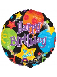 "Birthday Jubilee 17"" Foil Balloon"