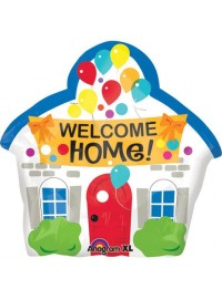 Welcome Home Jr Shape Foil Balloon