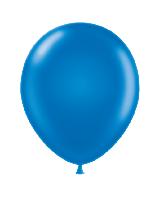 Metallic Balloon - Blue