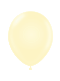 Metallic Balloon - Ivory