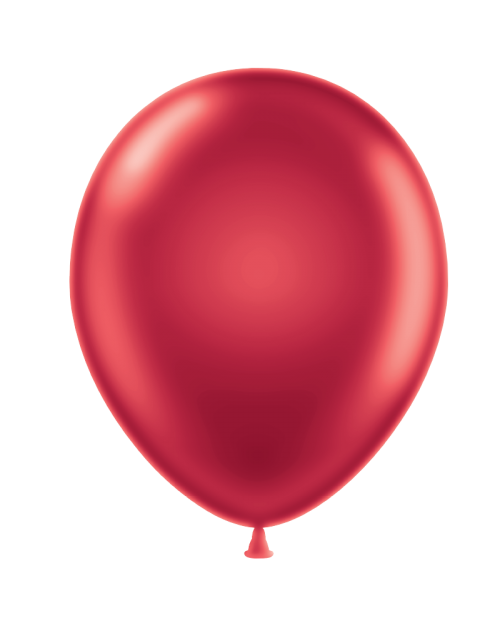 Metallic Balloon - Red