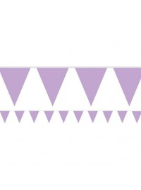 Flag Banner - Lilac