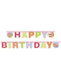 Totally Barbie Happy Birthday Banner
