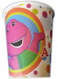 Barney Dots Cups (8)