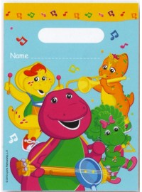 Barney Band Party Bags (8)