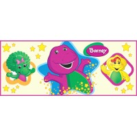 Barney Oros Bottle Sticker