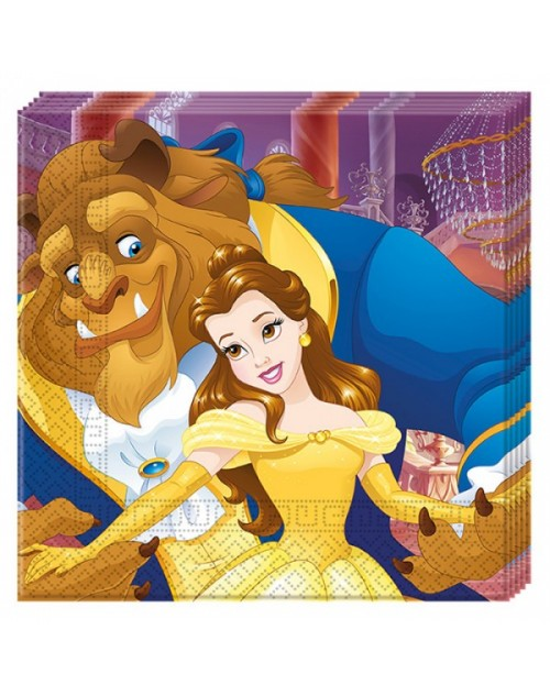 Beauty and the Beast Napkins (20)