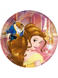 Beauty and the Beast Plates (8)