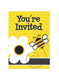 Busy Bee Invitations (8)