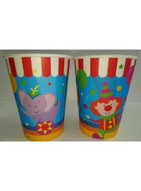 Circus Cups (6)