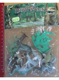 Plastic Dinosaurs Toy Set