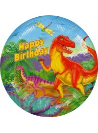 Dinosaur Party Foil Balloon