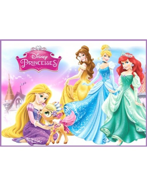 Princesses Meal Box / Bucket Sticker