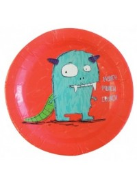 Doodle Monsters Plates (8)