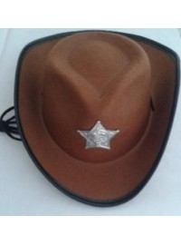Cowboy Child Hat - Brown