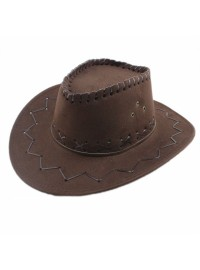 Cowboy Hat - Dark Brown