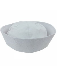 Sailor Hat - White Material