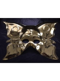 Butterfly Mask - Gold